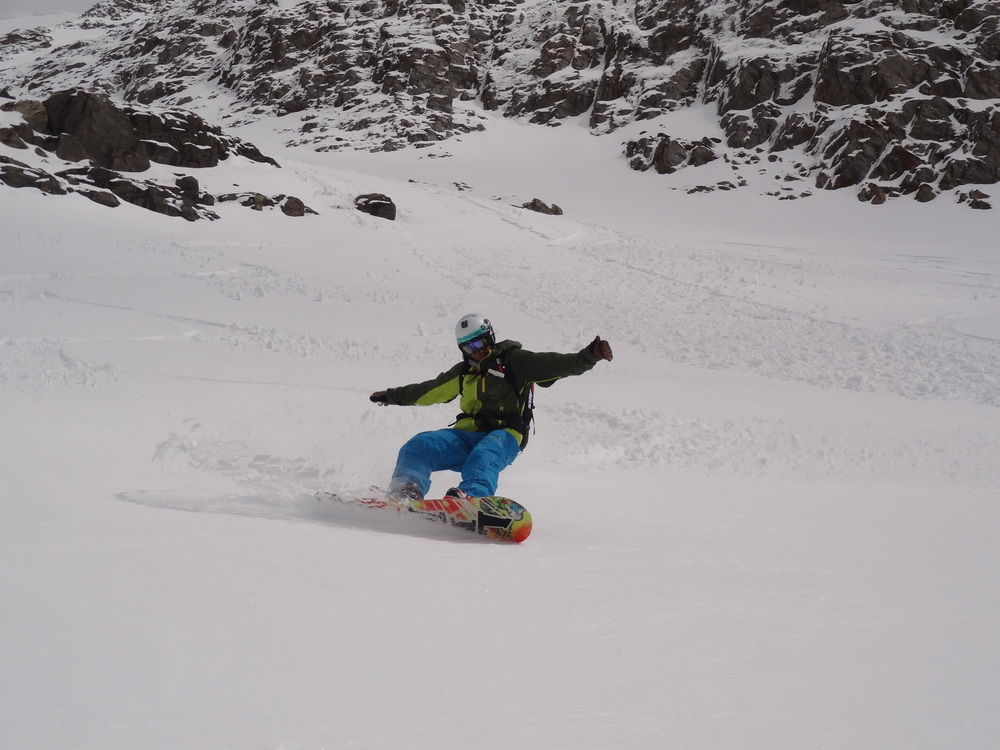 Off piste at the Dome des Rousse