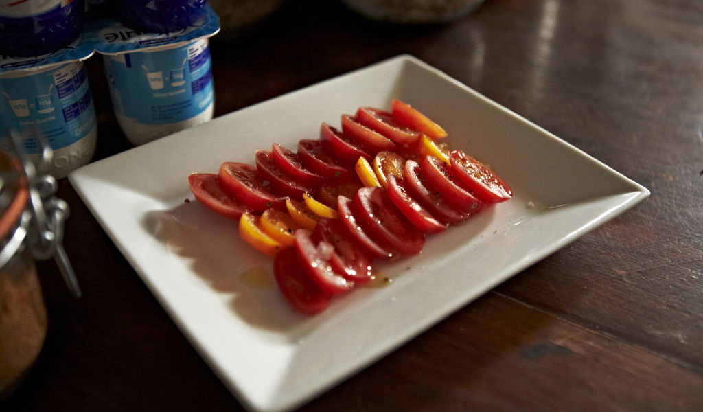 breakfast - tomatoes